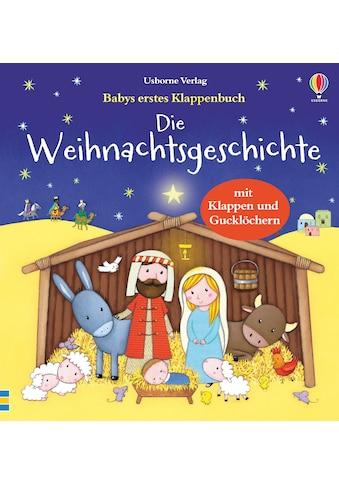 Buch »Babys erstes Klappenbuch: Die Weihnachtsgeschichte / Jessica Greenwell, Sam... kaufen