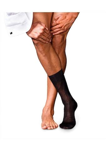 FALKE Socken »No. 9 Pure Fil d´Écosse«, (1 Paar), mit reiner ägyptischer Baumwolle kaufen