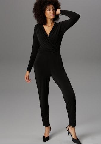 Aniston SELECTED Jumpsuit, zaubert ein schönes Dekolleté kaufen