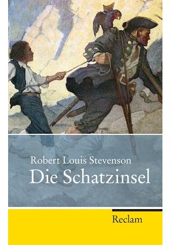 Buch »Die Schatzinsel / Robert Louis Stevenson, Burkhard Niederhoff, Ulrich Bossier« kaufen