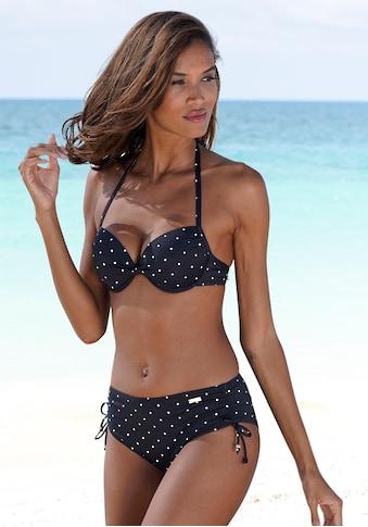 LASCANA Bikini-Hose »Sparkel«, seitlich zu raffen kaufen