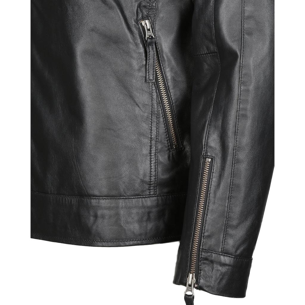 JCC Lederjacke »60700192«, mit zwei Brusttaschen
