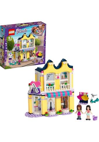 """LEGO® Konstruktionsspielsteine """"Emmas Mode - Geschäft (41427), LEGO® Friends"""", Kunststoff, (343 - tlg.) kaufen"""