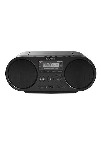 Sony Boombox »ZS-PS50«, ( AM-Tuner-FM-Tuner 4 W), CD-Laufwerk, Front-USB, MP-3 kaufen