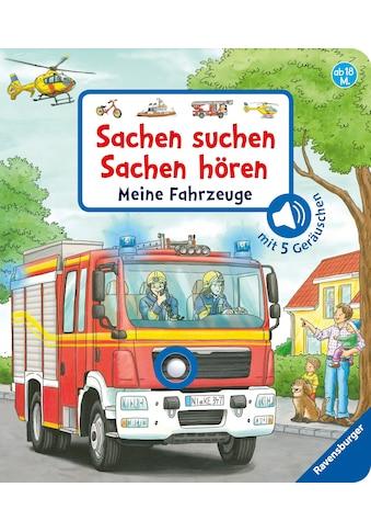 Buch »Sachen suchen, Sachen hören: Meine Fahrzeuge / Frauke Nahrgang, Niklas Böwer« kaufen