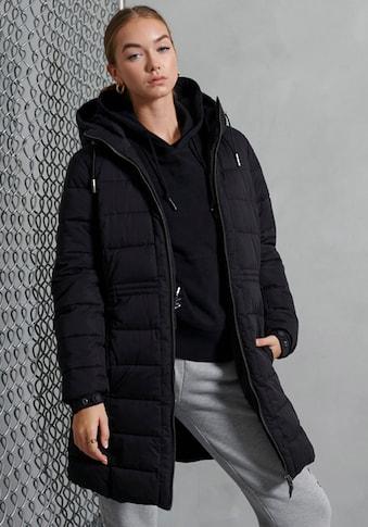 Superdry Winterjacke »LONG LINE BOSTON MICROFIBRE« kaufen