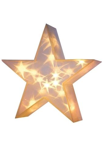 LED Dekolicht »3D-Stern«, Warmweiß, Ø 36 cm kaufen
