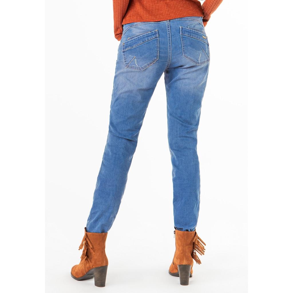 SUBLEVEL Skinny-fit-Jeans, mit Ziernieten