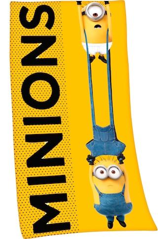 Minions Badetuch »Minions 2«, (1 St.), hochfarbig bedruckt kaufen