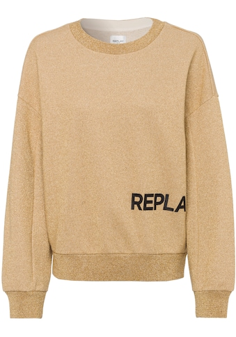 Replay Sweatshirt, mit auffälligem Markendruck kaufen