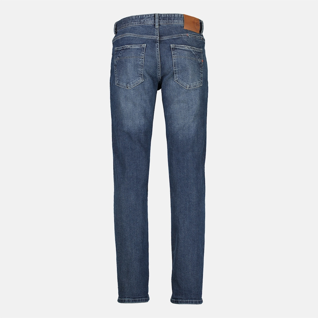LERROS Stretch-Jeans »ARUN«, in leichter Used-Optik, Highlight: Handy-Stecktasche