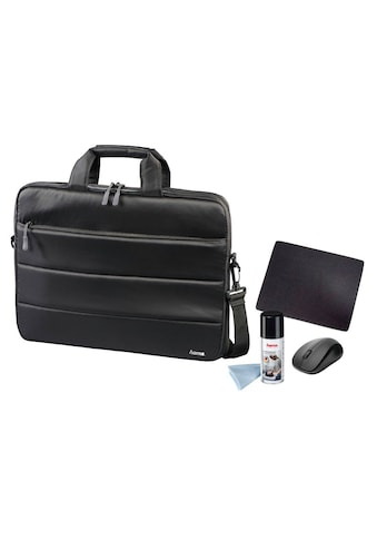 """Hama Notebooktaschen Set 15 Zoll (15,6"""") Taschen Set Home Office »Funkmaus, Mauspad, Spray« kaufen"""