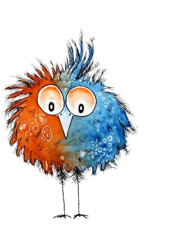 Wall-Art Wandtattoo »Lebensfreude - Schräger Vogel« kaufen