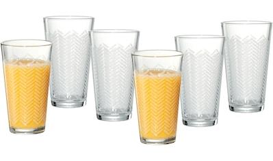 Ritzenhoff & Breker Longdrinkglas »Happy, Stripes«, (Set, 6 tlg., 6 Longdrinkgläser,... kaufen