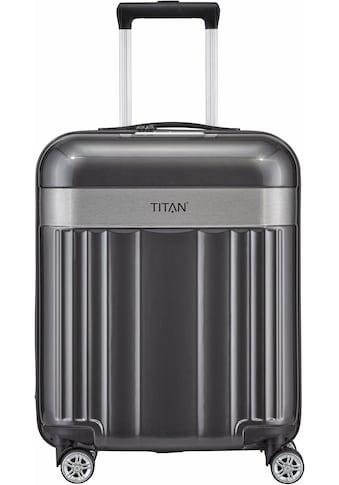"""TITAN® Hartschalen - Trolley """"Spotlight Flash, 55cm"""", 4 Rollen kaufen"""