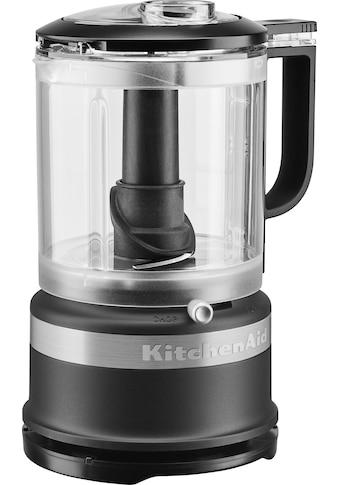 KitchenAid Zerkleinerer »5KFC0516EBM«, 240 W, 1,2 l. Farbe: matt schwarz kaufen