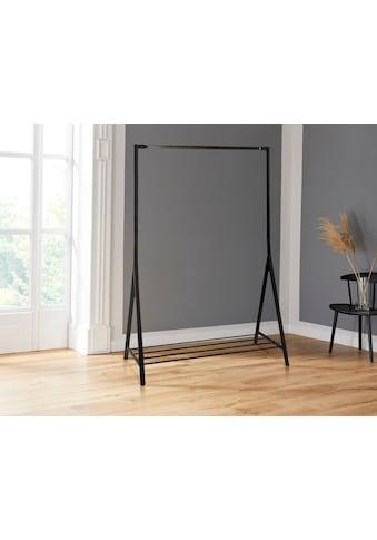 andas Garderobenständer »Bernhard«, aus schönem Metall, mit einer Ablagefläche, Breite 1170 cm kaufen