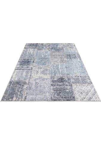 ELLE DECORATION Teppich »Denain«, rechteckig, 4 mm Höhe, Vintage Patchwork,... kaufen