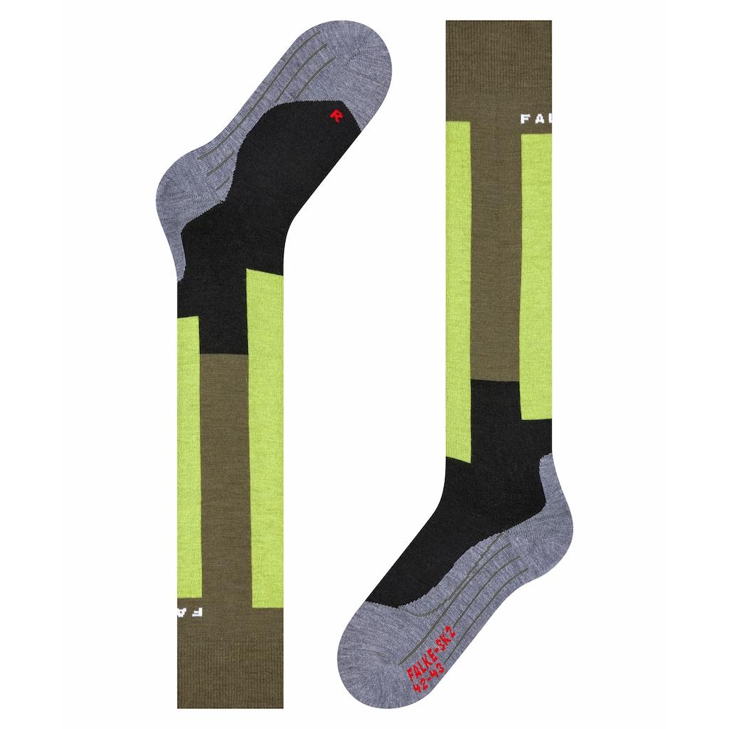 FALKE Skisocken »SK2 Retro Skiing«, (1 Paar), mit mittelstarker Polsterung