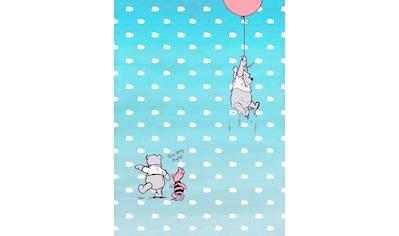 Komar Fototapete »Winnie Pooh Piglet«, bedruckt-Comic, ausgezeichnet lichtbeständig kaufen