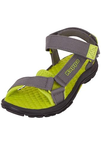 Kappa Sandale »MORTARA T«, mit zwei Klettverschl&uuml;ssen f&uuml;r optimale Weitenregulierung<br /> kaufen