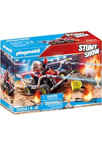 Playmobil® Konstruktions-Spielset »Feuerwehrkart (70554), Stuntshow«, (47 St.) kaufen