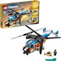 """LEGO® Konstruktionsspielsteine """"Doppelrotor-Hubschrauber (31096), LEGO® Creator"""", Kunststoff, (569-tlg.)"""