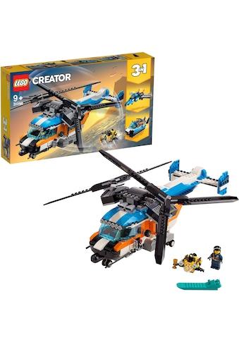 """LEGO® Konstruktionsspielsteine """"Doppelrotor - Hubschrauber (31096), LEGO® Creator"""", Kunststoff, (569 - tlg.) kaufen"""