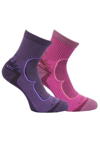 Regatta Wandersocken Great Outdoors Damen Wander - Socken, 2er - Pack kaufen