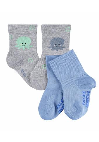 FALKE Socken »Little Ocean Lovers 2-Pack«, (2 Paar), aus Baumwolle kaufen