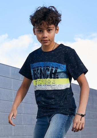 Bench. T-Shirt »meliert« kaufen