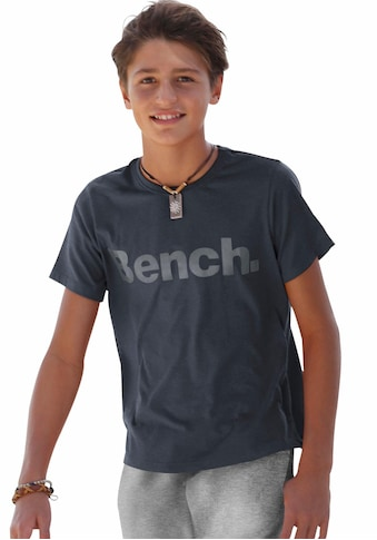 Bench. T-Shirt, in melierter Optik kaufen