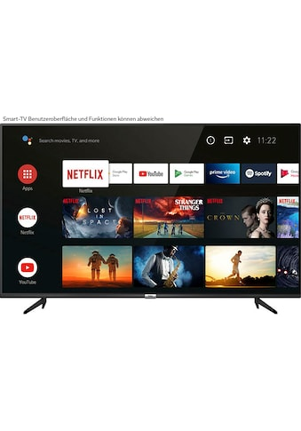 """TCL LED-Fernseher »43P616X1«, 108 cm/43 """", 4K Ultra HD, Smart-TV, Android 9.0... kaufen"""