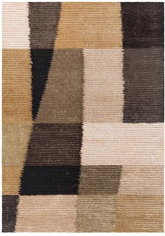 Arte Espina Teppich »Jazz 8108«, rechteckig, 15 mm Höhe, Besonders weich durch Microfaser, Wohnzimmer kaufen