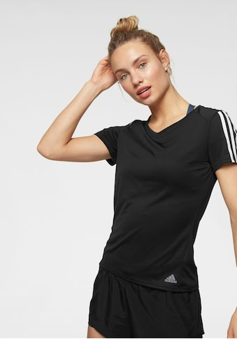 adidas Performance Laufshirt »RUN 3 STRIPES TEE W« kaufen