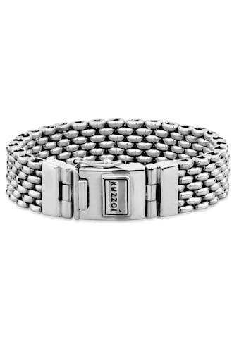 Kuzzoi Armband »Herren Breit Massiv Kastenverschluss 925 Silber« kaufen