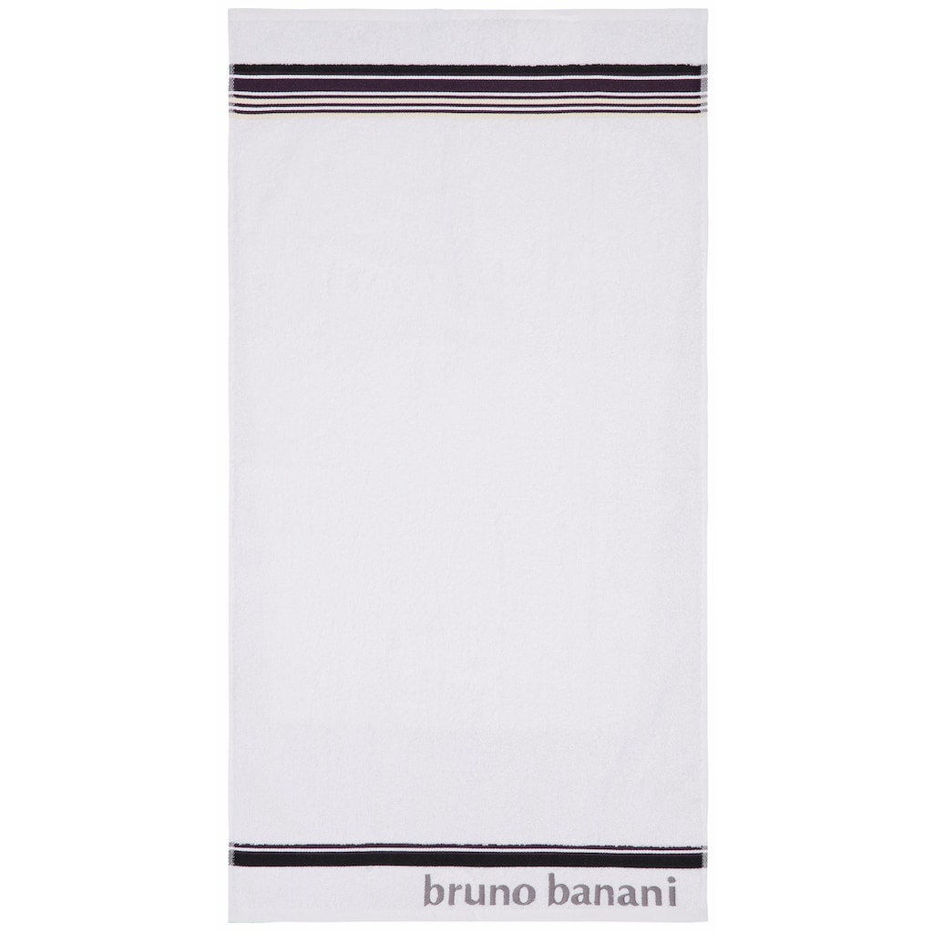 Bruno Banani Handtuch Set »Maja«, mit farbiger Bordüre