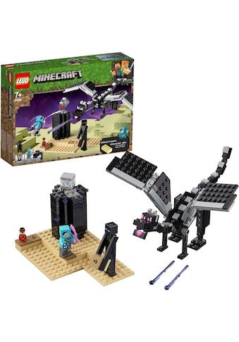 """LEGO® Konstruktionsspielsteine """"Das letzte Gefecht (21151), LEGO® Minecraft™"""", (222 - tlg.) kaufen"""