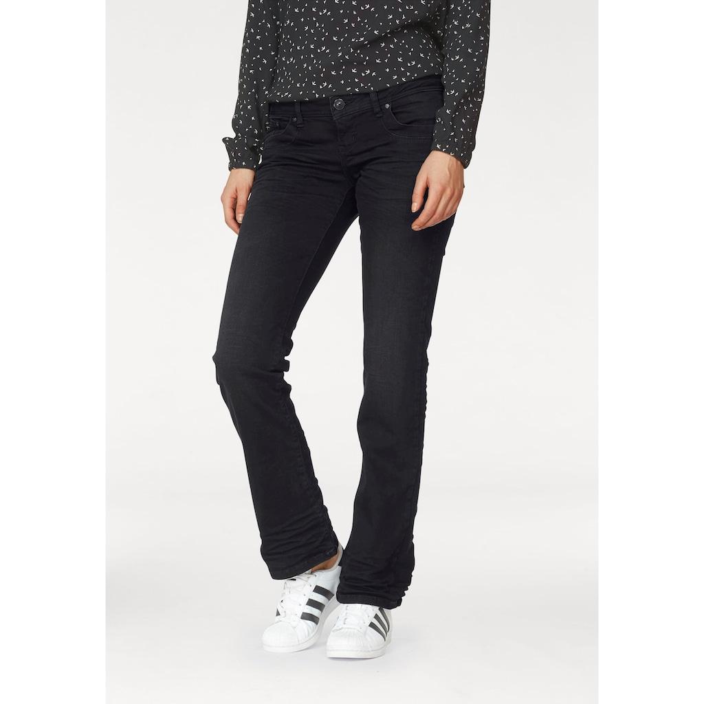 LTB Bootcut-Jeans »VALERIE«, mit ausgestelltem Bein und niedriger Leibhöhe im 5-Pocket-Stil