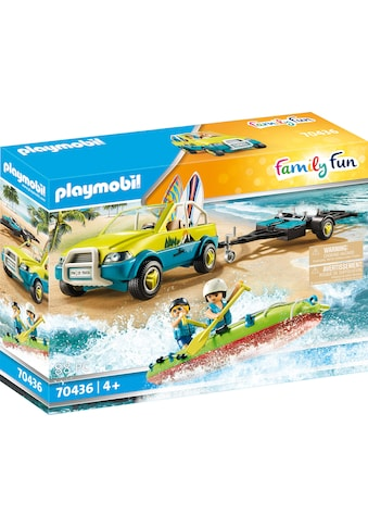 Playmobil® Konstruktions-Spielset »Strandauto mit Kanuanhänger (70436), Family Fun«,... kaufen