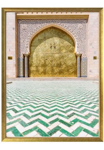 Wall-Art Poster »Alawi Moschee Oman«, Gebäude, (1 St.), Poster, Wandbild, Bild, Wandposter kaufen