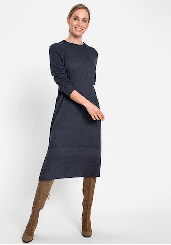Olsen Strickkleid, mit dezenten Seitenschlitzen kaufen