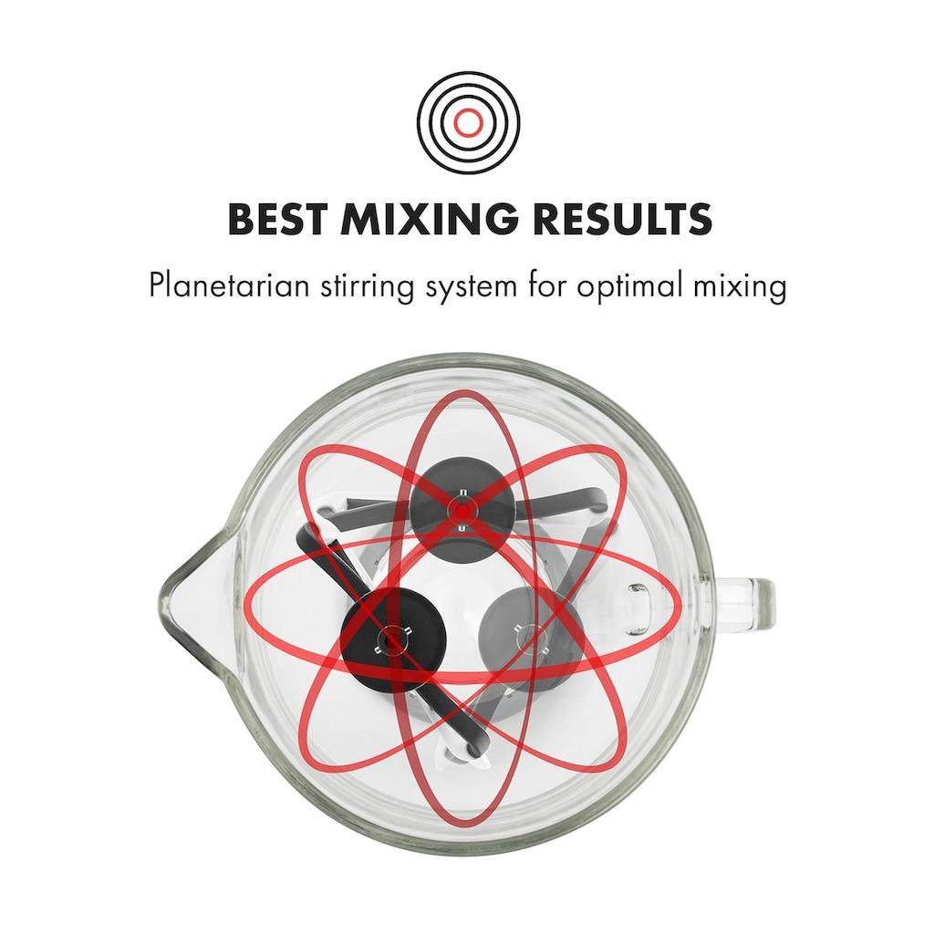 Klarstein Küchenmaschine Rührmaschine Knetmaschine 5,2L Glasschüssel