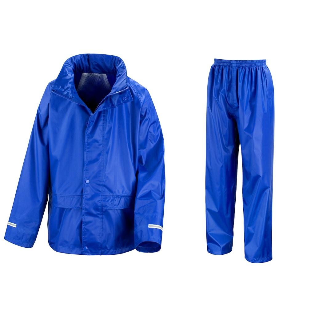 Result Regenjacke »Core Regenanzug für Kinder«