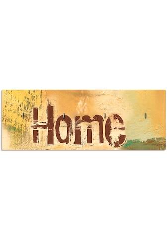 Artland Schlüsselbrett »Willkommen in unserem Zuhause« kaufen