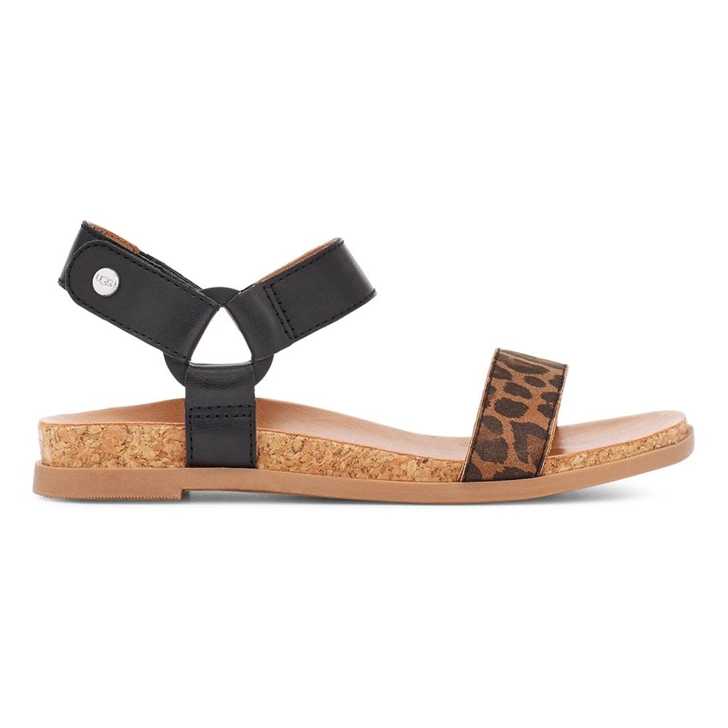 UGG Sandale »Rynell«, mit Klettverschluss