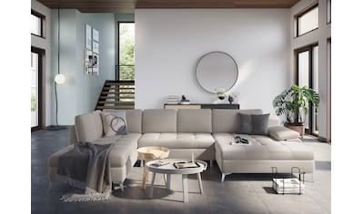 sit&more Wohnlandschaft, mit Mega-Recamiere, wahlweise mit Bettfunktion und Bettkasten kaufen
