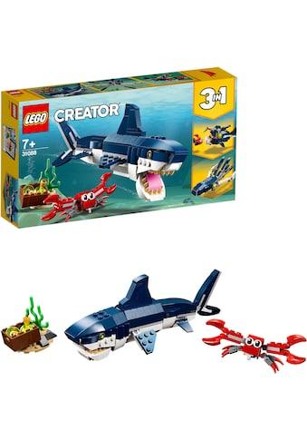 """LEGO® Konstruktionsspielsteine """"Bewohner der Tiefsee (31088), LEGO® Creator"""", (230 - tlg.) kaufen"""