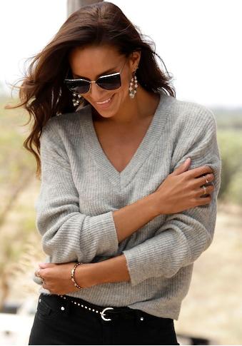 LASCANA V - Ausschnitt - Pullover kaufen