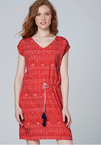 SOCCX Sommerkleid, mit dezentem Alloverdruck kaufen